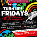 Turn Up Friday at Henry VIII Sept 15