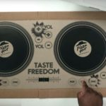 Pizza Hut delivers playable DJ Turntable Pizza Box